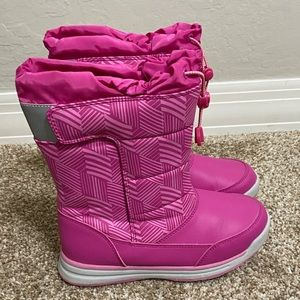 Lands' End Pink Snow Boots Size 3
